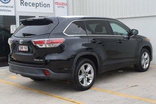 2016 Toyota Kluger GSU55R Grande AWD Black 6 Speed Sports Automatic Wagon.