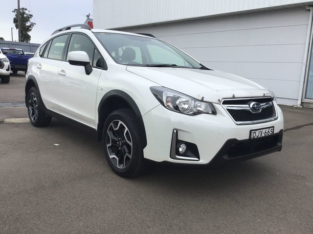 Used Subaru XV G4X MY17 2.0i Lineartronic AWD Cardiff, 2016 Subaru XV G4X MY17 2.0i Lineartronic AWD White 6 Speed Constant Variable Wagon
