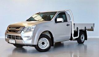 2018 Isuzu D-MAX MY18 SX 4x2 Silver 6 Speed Manual Cab Chassis.