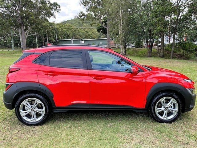 New Hyundai Kona Os.v4 MY21 Active 2WD Augustine Heights, 2021 Hyundai Kona Os.v4 MY21 Active 2WD Ignite Flame 8 Speed Constant Variable Wagon