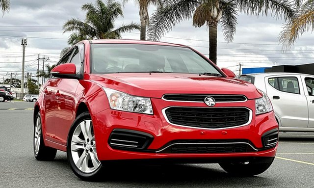Used Holden Cruze JH Series II MY16 Equipe Cheltenham, 2015 Holden Cruze JH Series II MY16 Equipe Red 6 Speed Sports Automatic Sedan