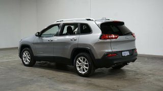 2014 Jeep Cherokee KL Longitude Silver 9 Speed Sports Automatic Wagon.