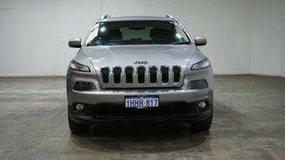 2014 Jeep Cherokee KL Longitude Silver 9 Speed Sports Automatic Wagon