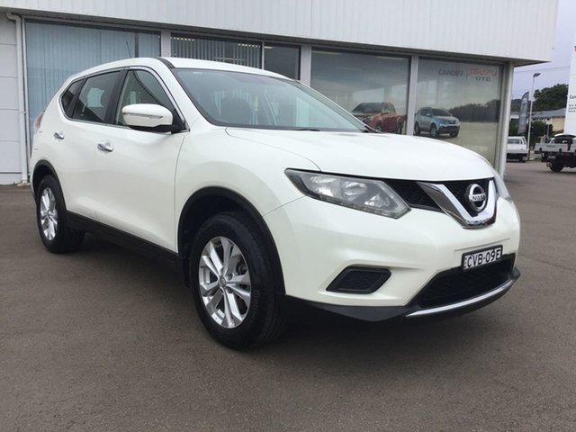 Pre-Owned Nissan X-Trail T32 ST 2WD Cardiff, 2014 Nissan X-Trail T32 ST 2WD White 6 Speed Manual Wagon