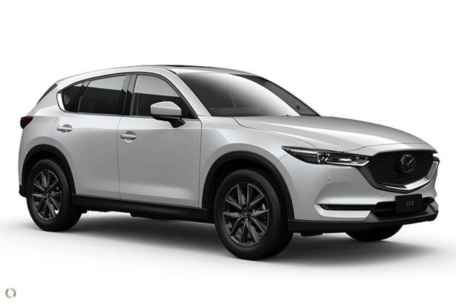New Mazda CX-5 KF4W2A GT SKYACTIV-Drive i-ACTIV AWD Waitara, 2021 Mazda CX-5 KF4W2A GT SKYACTIV-Drive i-ACTIV AWD White 6 Speed Sports Automatic Wagon