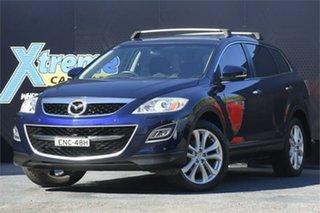 2010 Mazda CX-9 TB10A4 MY11 Grand Touring Blue 6 Speed Sports Automatic Wagon.