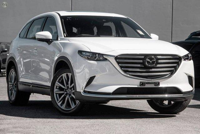 New Mazda CX-9 TC GT SKYACTIV-Drive Waitara, 2021 Mazda CX-9 TC GT SKYACTIV-Drive White 6 Speed Sports Automatic Wagon