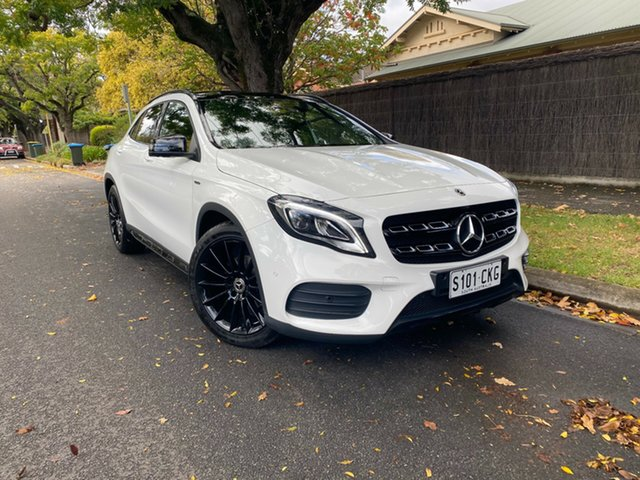 Pre-Owned Mercedes-Benz GLA-Class X156 809MY GLA180 DCT Hawthorn, 2018 Mercedes-Benz GLA-Class X156 809MY GLA180 DCT White 7 Speed Sports Automatic Dual Clutch Wagon