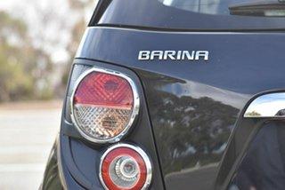 2015 Holden Barina TM MY15 CD Black 6 Speed Automatic Hatchback