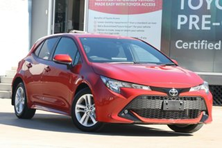 2020 Toyota Corolla Mzea12R SX Volcanic Red 10 Speed Constant Variable Hatchback.