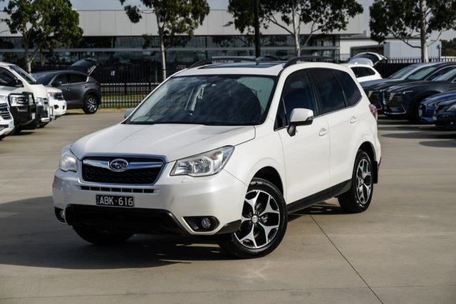 Used Subaru Forester S4 MY13 2.5i-S Lineartronic AWD Pakenham, 2013 Subaru Forester S4 MY13 2.5i-S Lineartronic AWD White 6 Speed Constant Variable Wagon