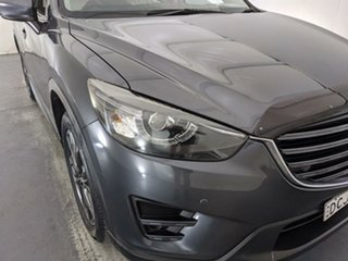 2015 Mazda CX-5 KE1032 Grand Touring SKYACTIV-Drive AWD Grey 6 Speed Sports Automatic Wagon.