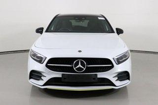 2018 Mercedes-Benz A200 177 Edition 1 Digital White 7 Speed Auto Dual Clutch Hatchback.