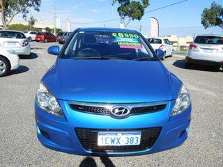 2011 Hyundai i30 FD MY11 SX Blue 5 Speed Manual Hatchback.