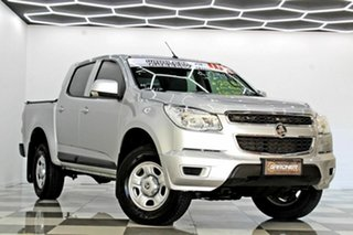 2015 Holden Colorado RG MY16 LS (4x2) Silver 6 Speed Automatic Crew Cab Pickup.