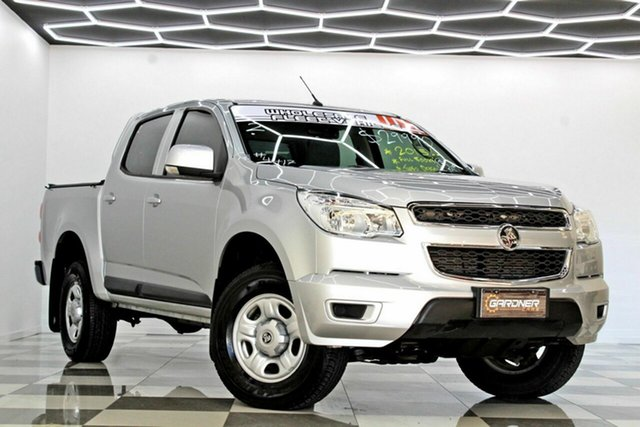 Used Holden Colorado RG MY16 LS (4x2) Burleigh Heads, 2015 Holden Colorado RG MY16 LS (4x2) Silver 6 Speed Automatic Crew Cab Pickup