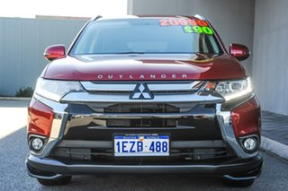 2015 Mitsubishi Outlander ZK MY16 LS 2WD Red/Black 6 Speed Constant Variable Wagon