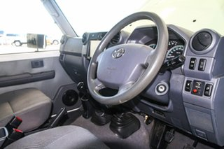 2012 Toyota Landcruiser VDJ79R MY12 Update GXL (4x4) French Vanilla 5 Speed Manual Cab Chassis