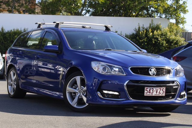 Used Holden Commodore VF II MY16 SS Sportwagon Mount Gravatt, 2015 Holden Commodore VF II MY16 SS Sportwagon Blue 6 Speed Sports Automatic Wagon
