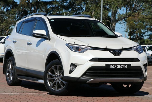 Pre-Owned Toyota RAV4 ASA44R Cruiser AWD Warwick Farm, 2017 Toyota RAV4 ASA44R Cruiser AWD White 6 Speed Sports Automatic SUV