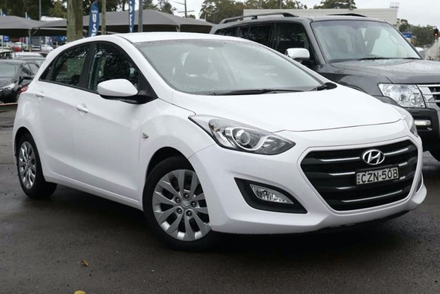 Used Hyundai i30 GD3 Series II MY16 Active North Gosford, 2015 Hyundai i30 GD3 Series II MY16 Active White 6 Speed Sports Automatic Hatchback