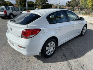 2012 Holden Cruze JH Series II MY12 CD White 6 Speed Sports Automatic Hatchback