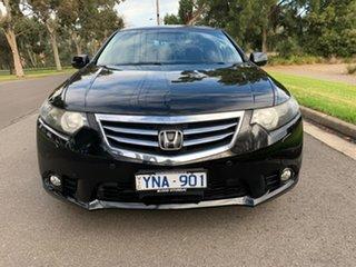 2010 Honda Accord Euro 8th Gen Luxury Black Automatic Sedan