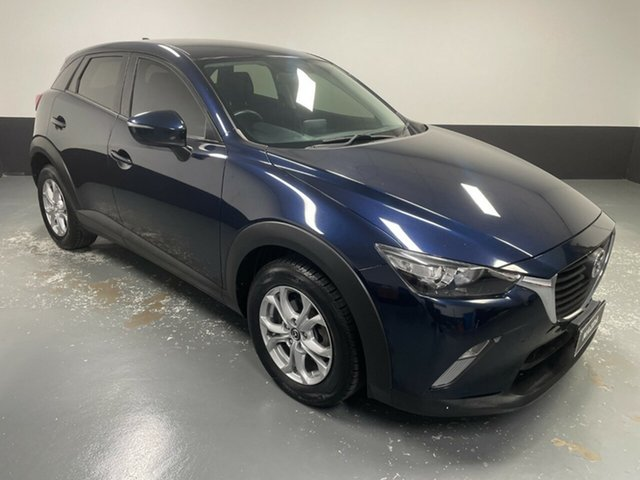 Used Mazda CX-3 DK2W7A Maxx SKYACTIV-Drive Hamilton, 2017 Mazda CX-3 DK2W7A Maxx SKYACTIV-Drive Blue 6 Speed Sports Automatic Wagon