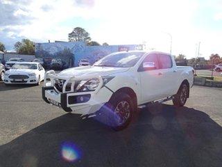2017 Mazda BT-50 UR0YG1 XTR White 6 Speed Automatic Utility.