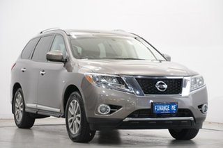 2014 Nissan Pathfinder R52 MY14 ST-L X-tronic 4WD Grey 1 Speed Constant Variable Wagon Hybrid.