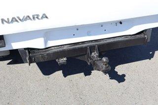 2011 Nissan Navara D40 MY11 RX White 6 Speed Manual Utility