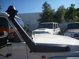 2009 Toyota Landcruiser VDJ79R GXL White 5 Speed Manual Cab Chassis