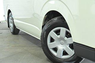 2017 Toyota HiAce KDH201R LWB French Vanilla 4 Speed Automatic Van.