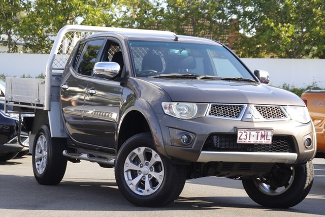 Used Mitsubishi Triton MN MY12 GLX-R Double Cab 4x2 Mount Gravatt, 2012 Mitsubishi Triton MN MY12 GLX-R Double Cab 4x2 Brown 5 Speed Sports Automatic Utility