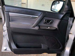2011 Mitsubishi Pajero NT GLS Silver 5 Speed Sports Automatic Wagon