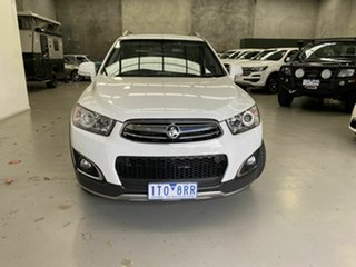 2014 Holden Captiva CG MY15 7 AWD LTZ White 6 Speed Sports Automatic Wagon.