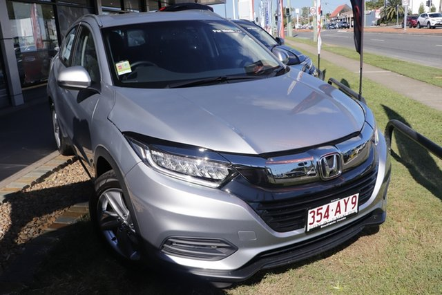 Demo Honda HR-V MY21 VTi-S Mount Gravatt, 2021 Honda HR-V MY21 VTi-S Lunar Silver 1 Speed Constant Variable Hatchback
