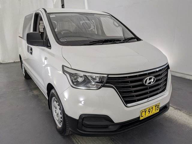 Used Hyundai iLOAD TQ4 MY19 Maryville, 2018 Hyundai iLOAD TQ4 MY19 White 6 Speed Manual Van