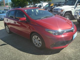2015 Toyota Corolla ZRE182R Ascent S-CVT Red 7 Speed Constant Variable Hatchback