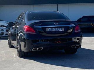 2015 Mercedes-Benz C-Class W205 C63 AMG SPEEDSHIFT MCT S Black 7 Speed Sports Automatic Sedan.