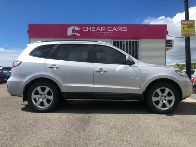 Used Hyundai Santa Fe CM MY07 Elite Garbutt, 2007 Hyundai Santa Fe CM MY07 Elite Silver 5 Speed Sports Automatic Wagon