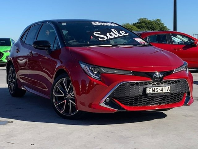 Used Toyota Corolla Mzea12R ZR Liverpool, 2021 Toyota Corolla Mzea12R ZR Red 10 Speed Constant Variable Hatchback