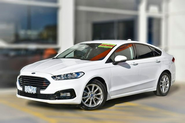 Used Ford Mondeo MD 2019.5MY Ambiente Berwick, 2019 Ford Mondeo MD 2019.5MY Ambiente White 6 Speed Sports Automatic Dual Clutch Hatchback