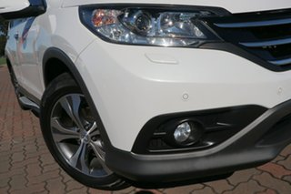 2013 Honda CR-V RM VTi-L 4WD White 5 Speed Automatic SUV.