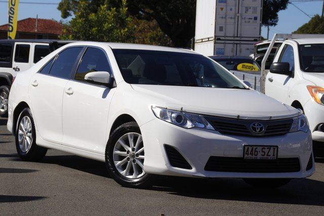 Used Toyota Camry ASV50R Altise Toowoomba, 2012 Toyota Camry ASV50R Altise White 6 Speed Sports Automatic Sedan