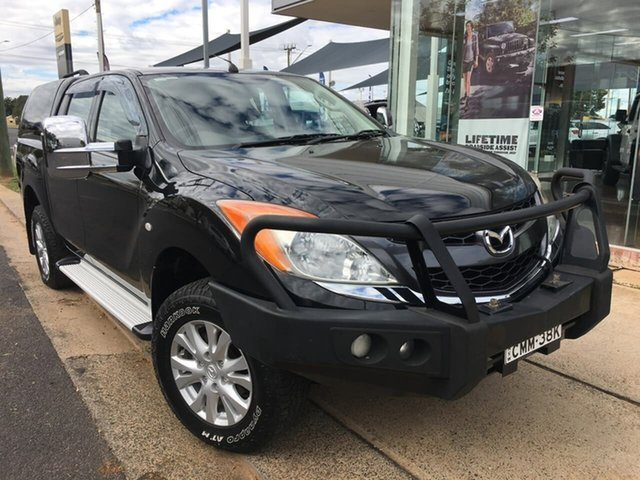 Used Mazda BT-50 UP XTR Dubbo, 2012 Mazda BT-50 UP XTR Black Sports Automatic