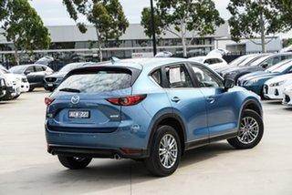 2017 Mazda CX-5 KF Series Touring Blue Sports Automatic SUV.