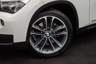 2013 BMW X1 E84 LCI MY0713 sDrive18d Steptronic White 8 Speed Sports Automatic Wagon