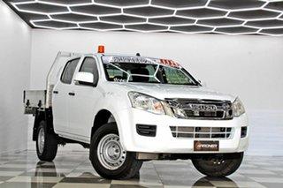 2016 Isuzu D-MAX TF MY15.5 SX HI-Ride (4x2) White 5 Speed Automatic Crew Cab Utility.