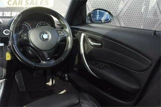 2008 BMW 1 Series E87 MY07 120i Black 6 Speed Automatic Hatchback
